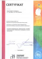 Certyfikat EKOTUR 001
