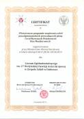 Certyfikat MON